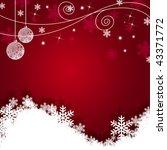 christmas background | Shutterstock . vector #43371772
