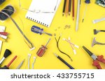 electrical and electronic... | Shutterstock . vector #433755715