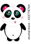 small fun cute color cheerful... | Shutterstock . vector #433778764