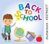 back to school design.    Shutterstock . vector #433790377