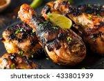 Spicy Grilled Jerk Chicken Wit...