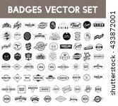 icon symbol badge logo... | Shutterstock .eps vector #433872001