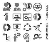 system  user  administrator... | Shutterstock .eps vector #433891837