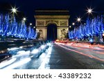 champs elysee  paris   Shutterstock . vector #43389232