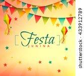 festa junina event festival... | Shutterstock .eps vector #433912789