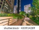 shinjuku streets and buildings...   Shutterstock . vector #433914289