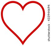 heart shape | Shutterstock . vector #433944694