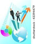 global economy | Shutterstock .eps vector #43394479