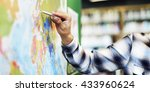 teacher teach teaching... | Shutterstock . vector #433960624