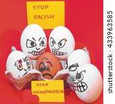 stop homophobia | Shutterstock . vector #433963585