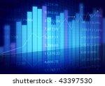 stock market charts | Shutterstock . vector #43397530