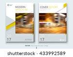 book cover design. corporate...   Shutterstock .eps vector #433992589