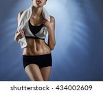 on her way to wellness. cropped ... | Shutterstock . vector #434002609