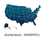 america map | Shutterstock .eps vector #434009911