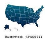america map | Shutterstock .eps vector #434009911