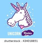 vector illustration of white... | Shutterstock .eps vector #434018851