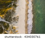 drone shot. aerial photography. ... | Shutterstock . vector #434030761