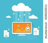 data analysis. analytics report   Shutterstock .eps vector #434033011