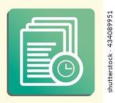 vector illustration of files... | Shutterstock .eps vector #434089951