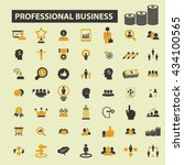 business icons  | Shutterstock .eps vector #434100565