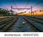 Railroad Tracks In The City...