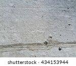 old gray cement grunge wall...   Shutterstock . vector #434153944