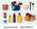 cosmetic spa and personal... | Shutterstock . vector #434159917