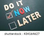 time management concept  ... | Shutterstock . vector #434164627