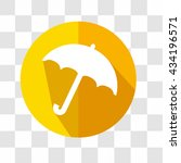 umbrella flat icon. weather...