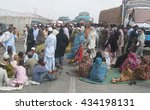 Small photo of KARACHI, PAKISTAN - JUN 09: Residents of Baldia Yousuf Goth are protesting against prolonged electric load shedding and shortage of drinking water, at Hub River Road on June 09, 2016 in Karachi.