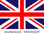 flag of the united kingdom | Shutterstock .eps vector #434202229