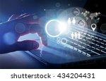business. | Shutterstock . vector #434204431