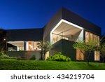architecture modern design ... | Shutterstock . vector #434219704