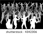 party people   vectors work | Shutterstock .eps vector #4342306