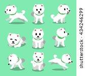 cartoon character japanese... | Shutterstock .eps vector #434246299