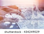 business and finance  modern... | Shutterstock . vector #434249029