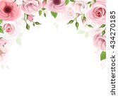 Vector Background Frame With...