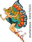 hand drawn. vector illustration.... | Shutterstock .eps vector #434270221