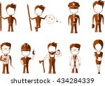 profession | Shutterstock .eps vector #434284339