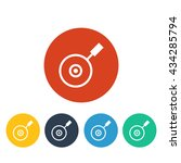 vector illustration of pan icon