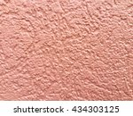 pink cement texture for... | Shutterstock . vector #434303125