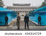 Panmunjeon  South Korea   Apri...