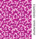 seamless digital  fashion... | Shutterstock .eps vector #434324911