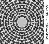 optical illusion   illustration ... | Shutterstock .eps vector #434324929