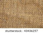 photo shot of jute texture - stock photo