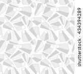 3d geometric background.... | Shutterstock .eps vector #434394289