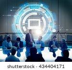 computer information technology ... | Shutterstock . vector #434404171