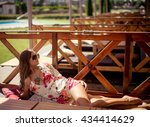 summer fashion photo of young... | Shutterstock . vector #434414629