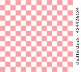 Pink And White Checkered...
