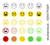customer feedback or user... | Shutterstock .eps vector #434479369